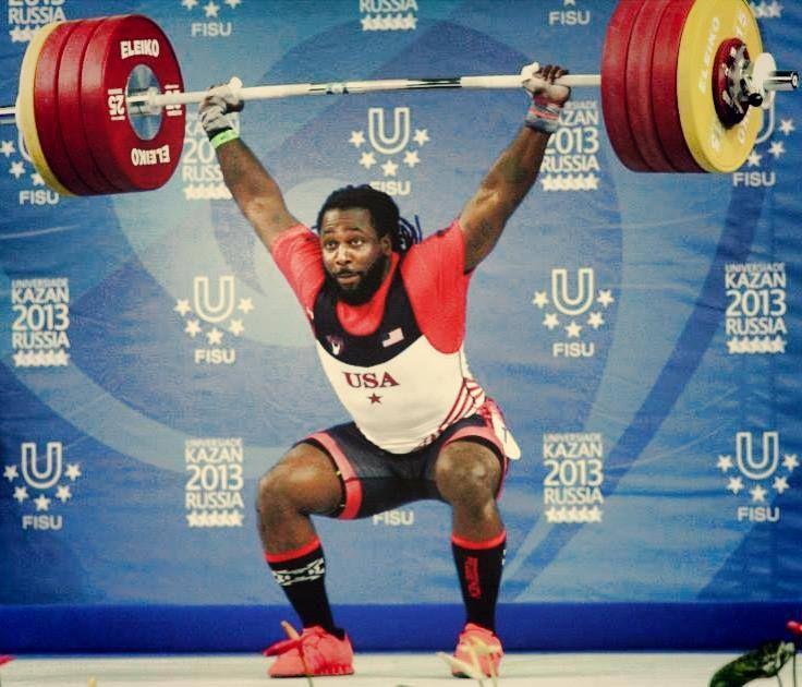 Kendrick Farris, weightlifting