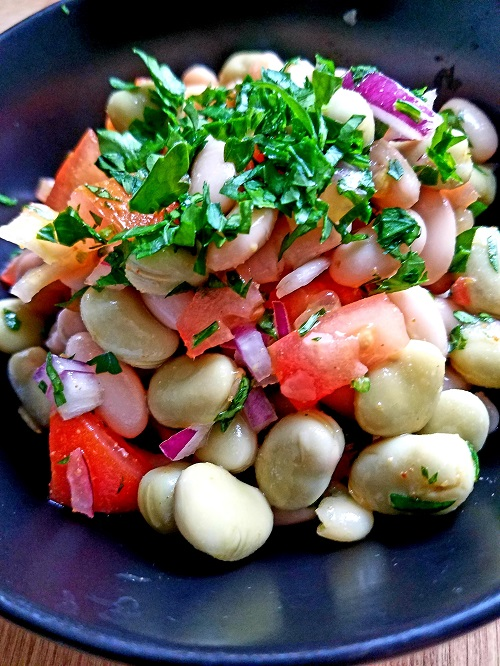 Middle-Eastern Bean Salad