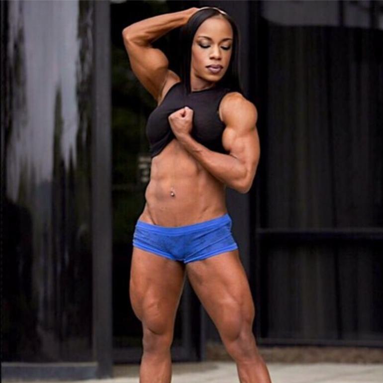Jehina Malic Bodybuilding