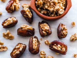 Stuffed Dates With Nut Butter