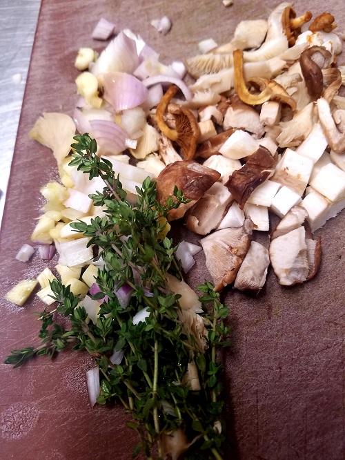 Creamy Garlicky Vegan Mushrooms