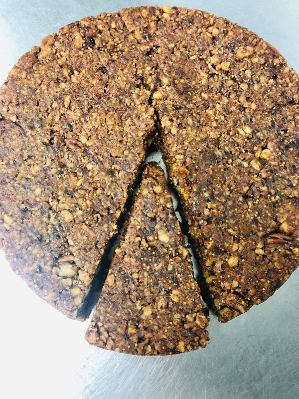 Healthy Soft Vegan Fig And Nut Bars