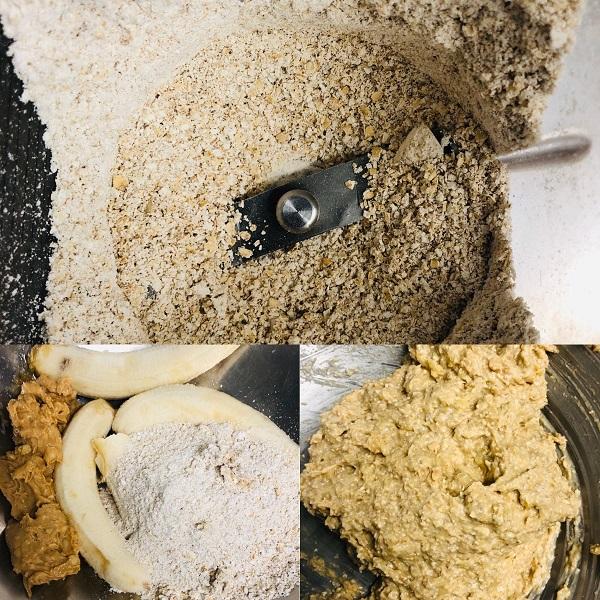 Healthy Vegan 3-Ingredient Banana And Oat Cookies