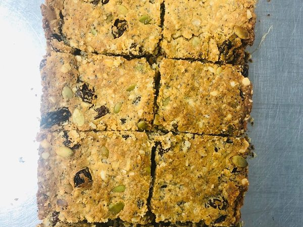 Easy Healthy Vegan Granola Bars