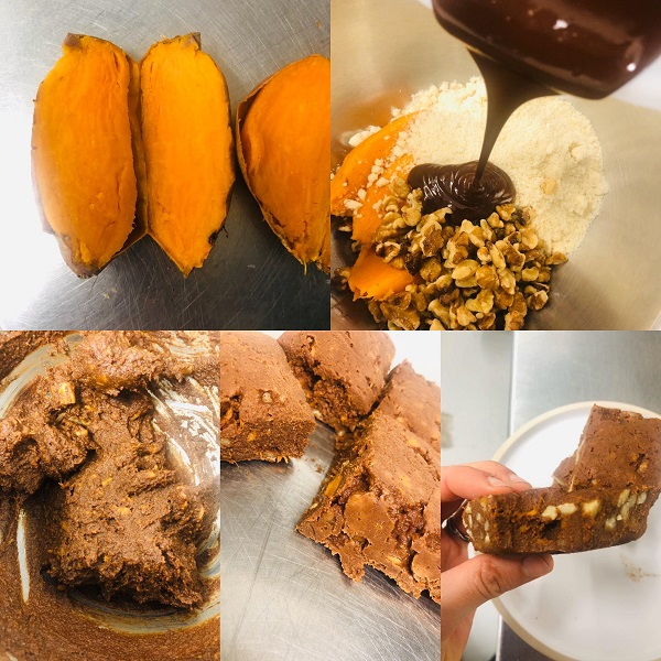 4-Ingredient Super Healthy Vegan Brownie