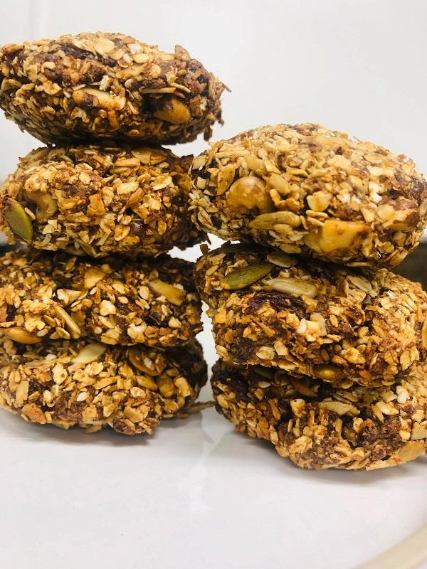 5-Seed & Nuts Incredibly Healthy Cookies