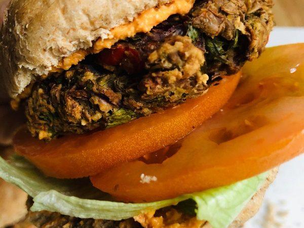 Easy Healthy High-Protein Vegan Lentil Burgers