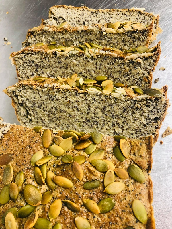 5-Ingredient Healthy Gluten-Free Vegan Bread