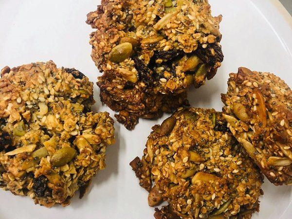 Incredibly Healthy Easy Vegan Breakfast Cookies