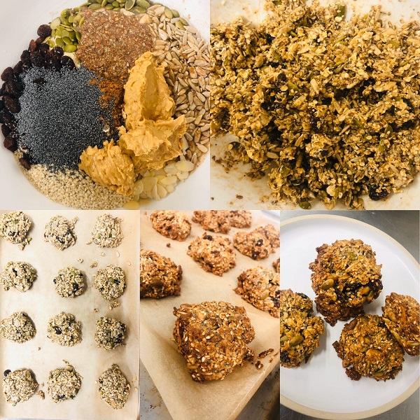 Incredibly Healthy Easy Vegan Breakfast Cookies