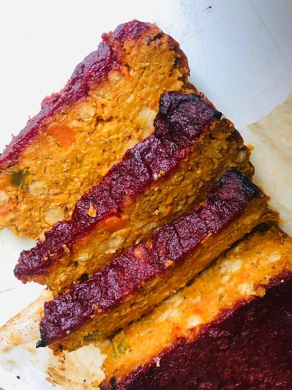 Easy Healthy Vegan Meatloaf