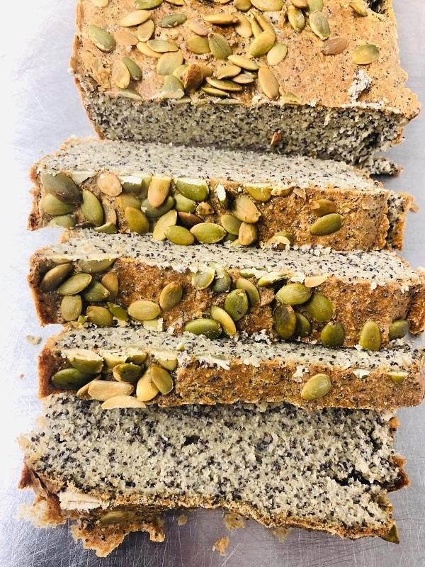 5-Ingredient Healthy Gluten-Free Vegan Bread