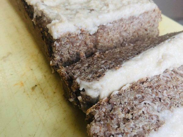 Gluten-Free Healthy Vegan Lemon Drizzle Loaf
