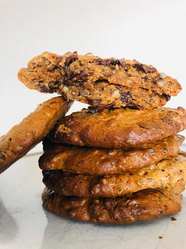 Easy Healthy High-Protein Vegan Cookies