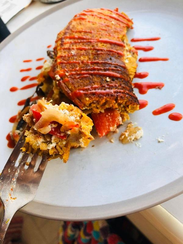 Easy Healthy Vegan Omelette