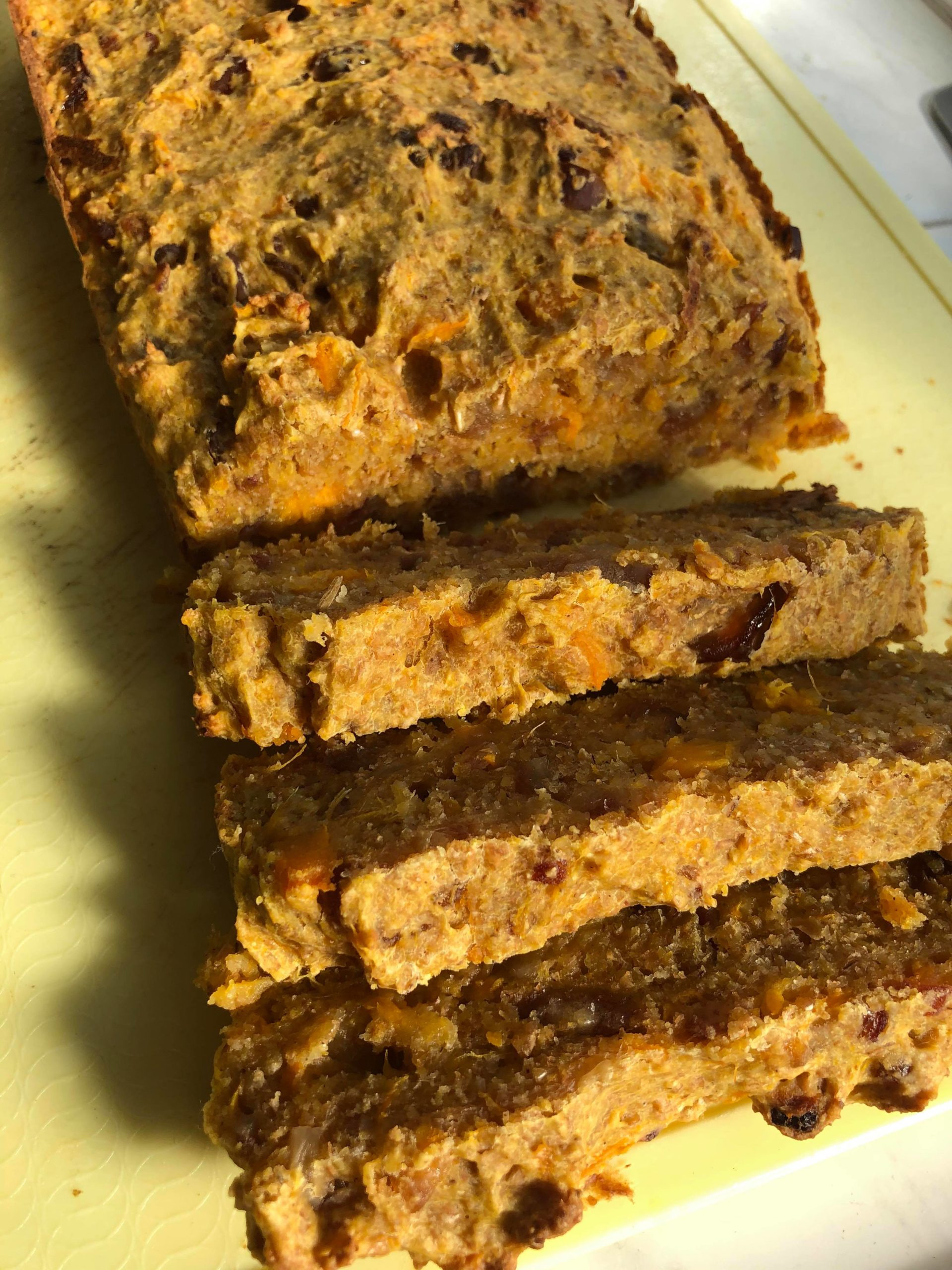 Easy Healthy Vegan Sweet Potato Bread