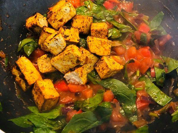 Easy Healthy Vegan Tofu Shakshuka