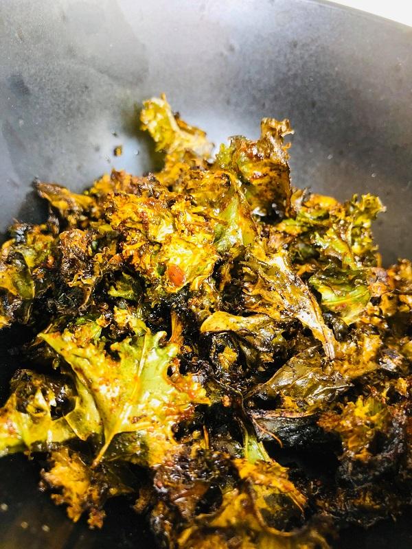 Easy Crispy Kale