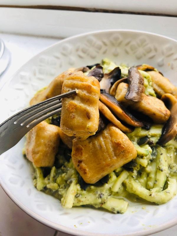 Easy Healthier Vegan Tofu Gnocchi
