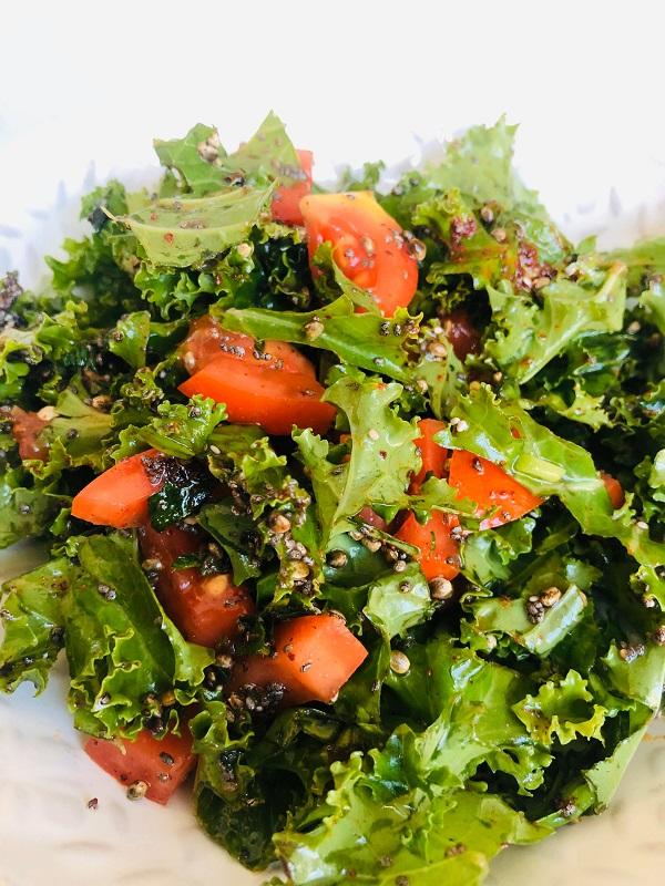Quick Super Nutritious Kale Salad