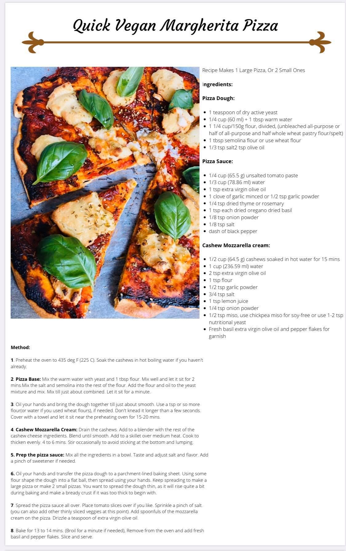 VegeVega's Recipe E-book!