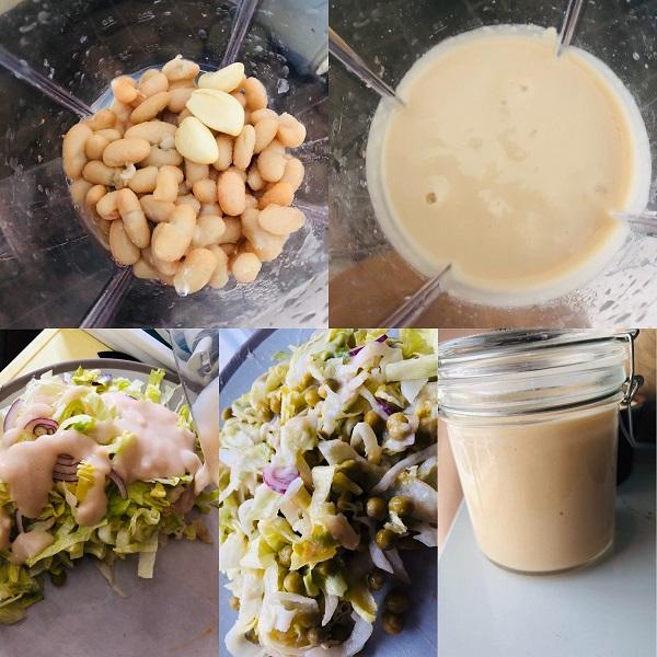 2-Minute Creamy Vegan Oil-Free Salad Dressing