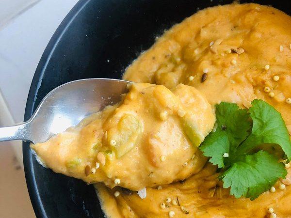 Creamy Vegan Cheese Soup