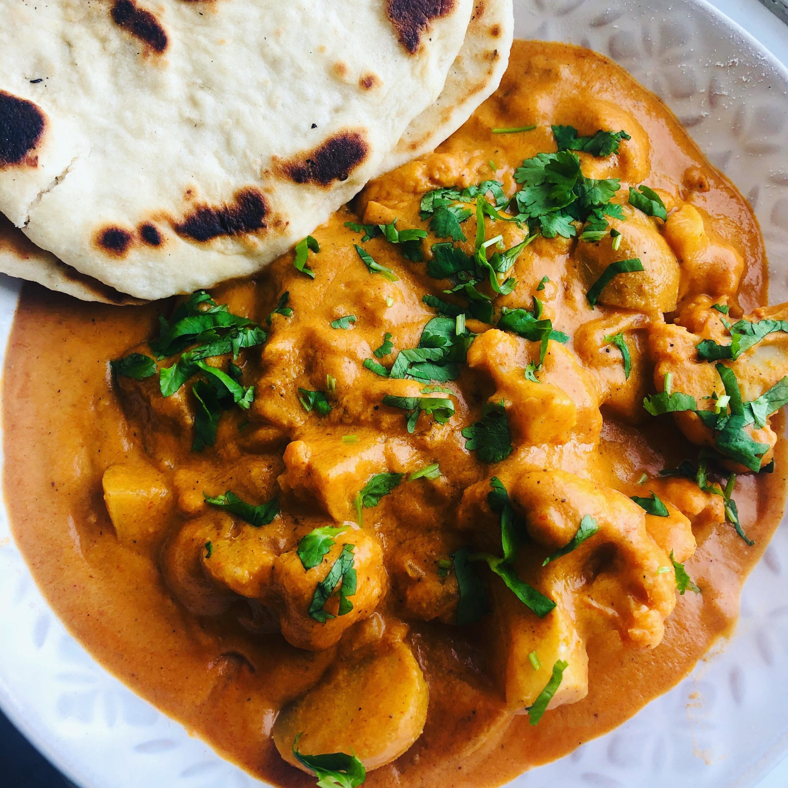 Creamy Vegan Tikka Masala Potato Curry