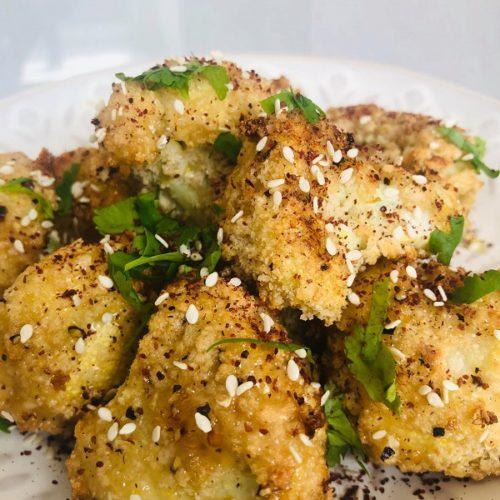 Gluten-Free Lemon & Pepper Cauliflower Wings