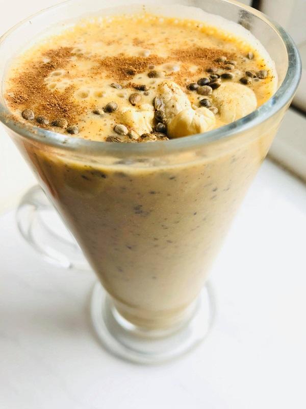 Healthy Creamy Sweet Potato Pie Smoothie