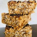 Easy Vegan Healthy Nut-Free Granola Bars
