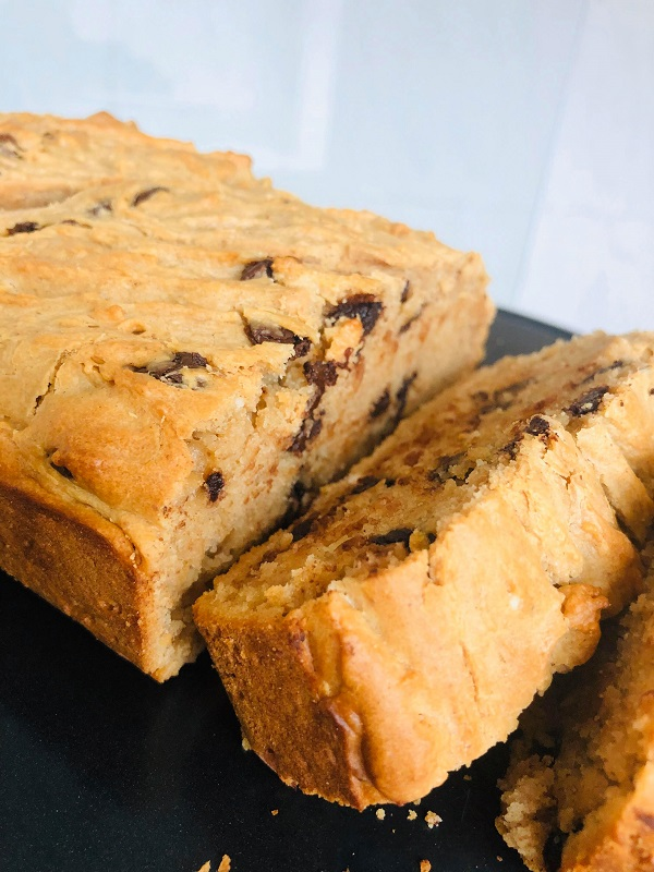 6-Ingredient Vegan Peanut Butter Loaf