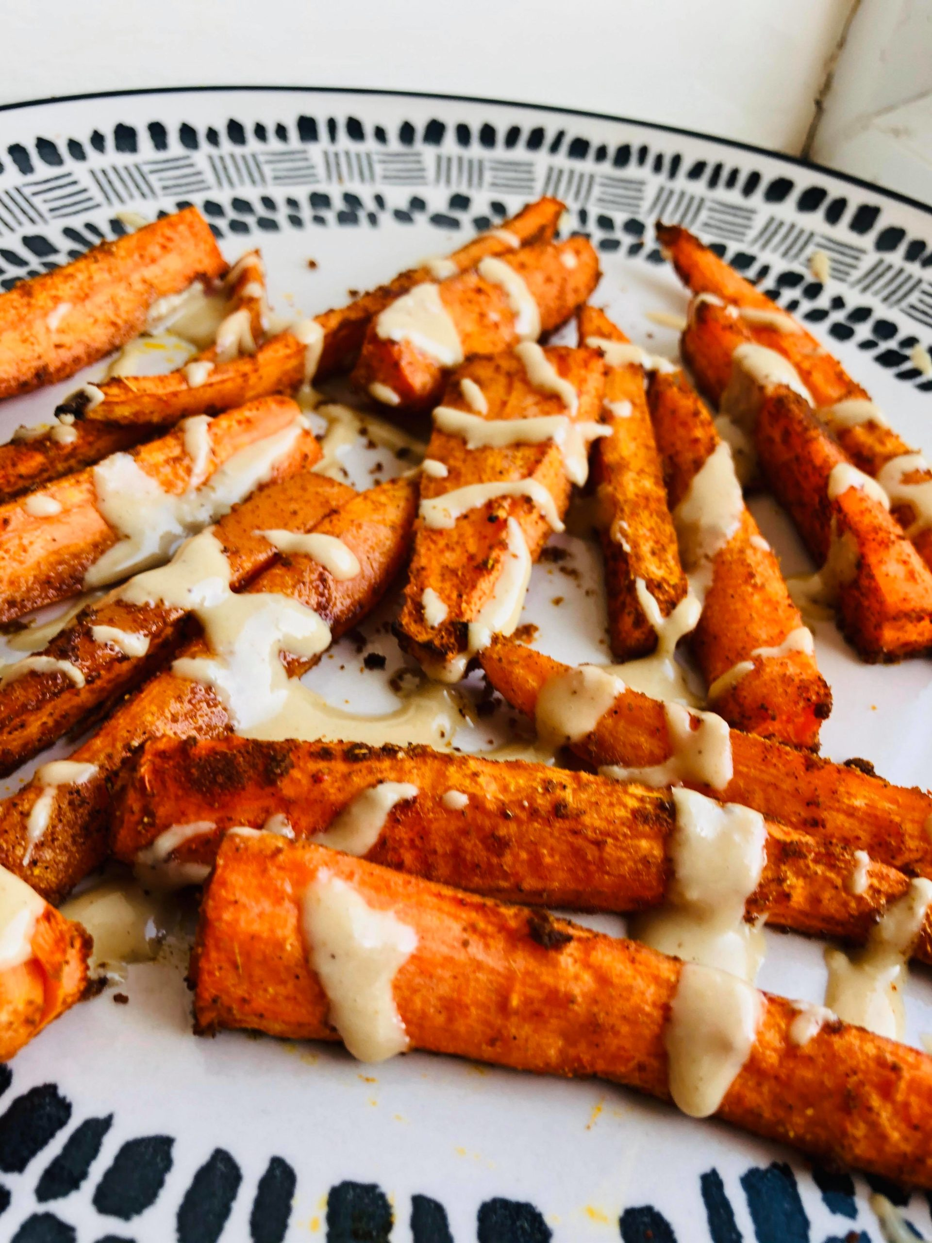 Easy Healthy Moroccan Spiced Roasted Carrots