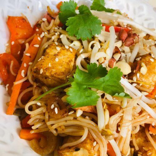 Easy Healthy Vegan Pad Thai