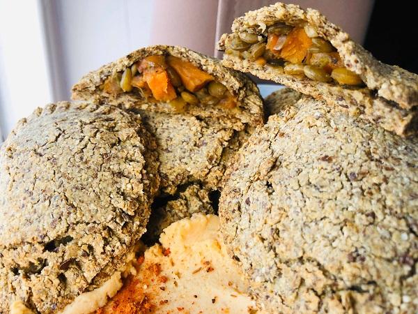 Healthy Gluten & Oil-Free Vegan Empanadas