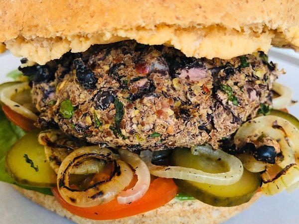 Easy Healthy Oil & Gluten-Free Black Bean Burgers