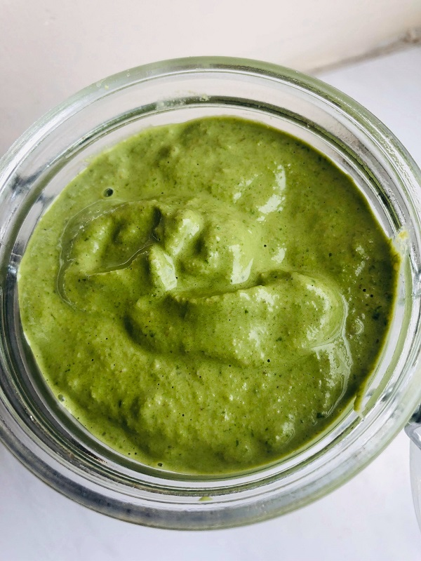 5-Minute Healthy Vegan Pesto