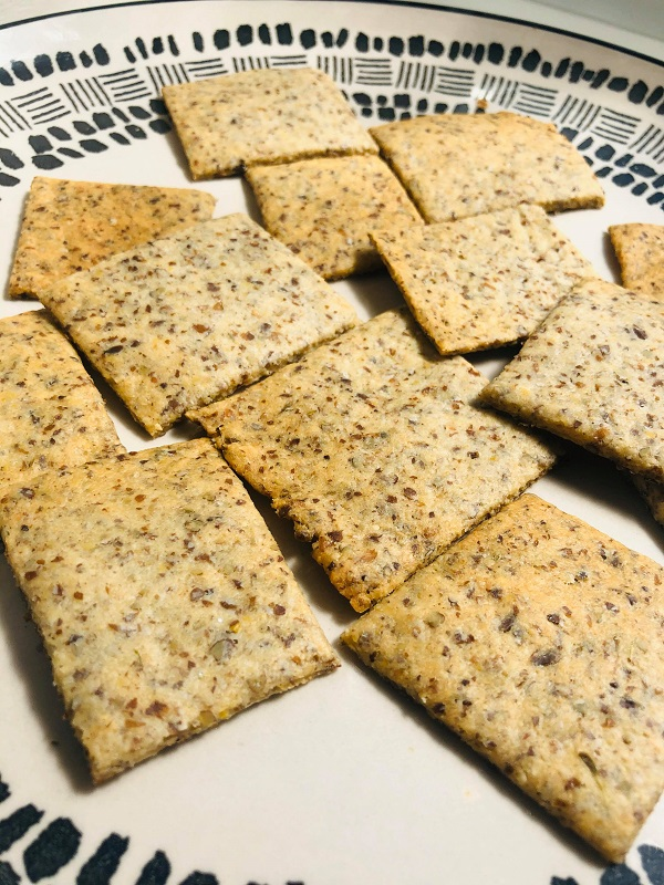 Easy Healthy Gluten-Free Crackers