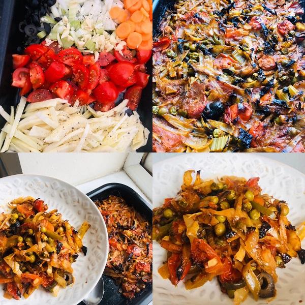 Mum's Easy 6 Vegetable Baked Casserole