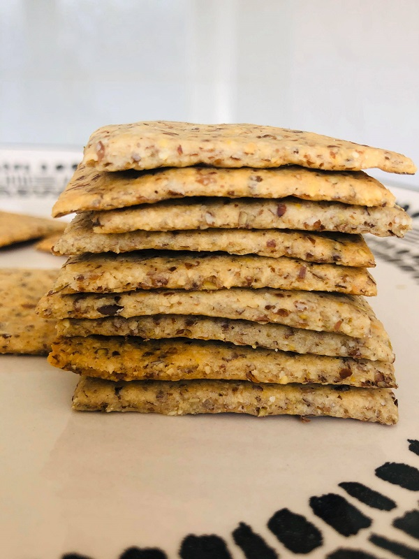 Easy Healthy Gluten-Free Crackers