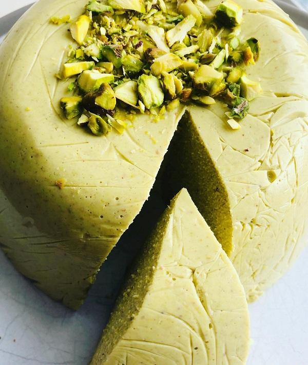 Easy Vegan Amazing Pistachio Cheese