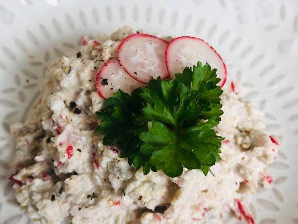 Easy Healthy Vegan Cottage Cheese