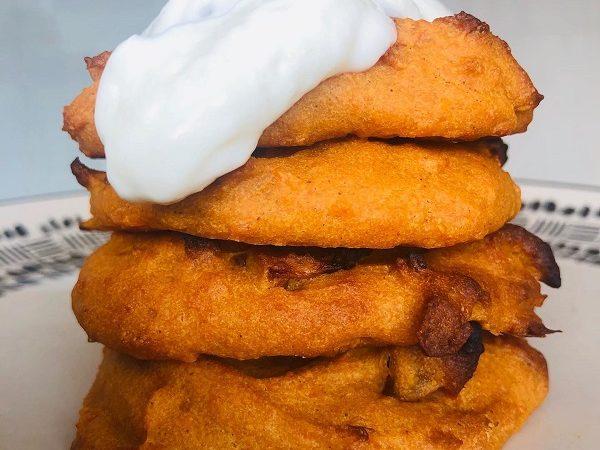 Easy Vegan Mbatata Cakes (Caramelized Mango Cakes)