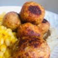 Easy Healthy Vegan Buffalo Quinoa 'Meatballs'