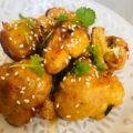 Thai Spiced Baked Cauliflower Wings