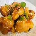 Thai Spiced Baked Cauliflower Wings