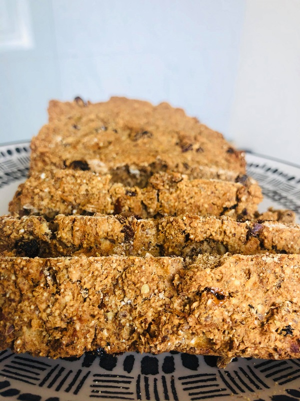 Easy Healthy Whole Food Plant-Based Apple Bread