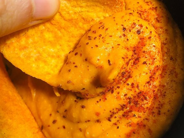 Healthy Vegan Nut & Oil-Free Nacho Cheese Sauce