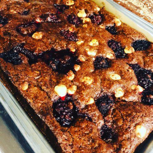 Easy Healthy Vegan Fudge Chocolate Brownie