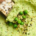 5-Minute Oil-Free Creamy Pea Hummus
